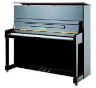 Pianino P125 M1 C/P Crni polirani