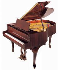 Klavir P159 Bora Demichippendale C/P crni polirani