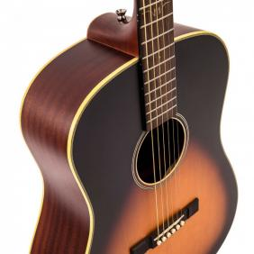VE660VB HISTORIC SERIES 'DREADNOUGHT' ELECTRO-ACOUSTIC GUITAR - VINTAGE BURST - 5
