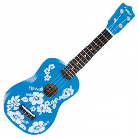 UKULELE FL15BL - BLUE FLOWER - 1