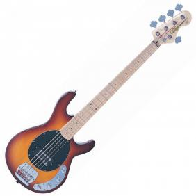 V965TSB 5-STRING ACTIVE BASS - FLAMED TOBACCO SUNBURST   The combination of a chunky Wilkinson doubl - 1
