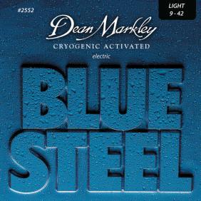 DM2552 BLUE STEEL LIGHT 9-42 SET ŽICA ZA ELEKTRIČNU GITARU - 1