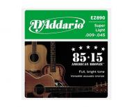 Set žica za akustičnu gitaru Super Light 09-42 - EZ 890