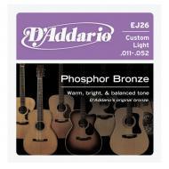 Set žica za akustičnu gitaru Custom Light Phosphor Bronze - EJ26
